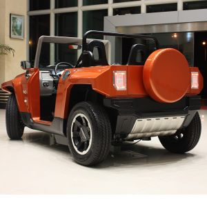 Battery Powered Enclosed Electric Hummer Cart (HX-T) pictures & photos