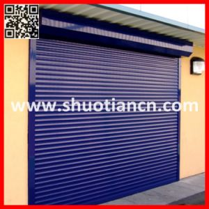 Security Roll Down Aluminum Shutter Door (ST-002) pictures & photos