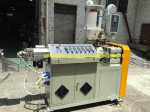 Competitive Advanced Technology Teflon Twisting Tubing Plastic Extruding Machinery pictures & photos