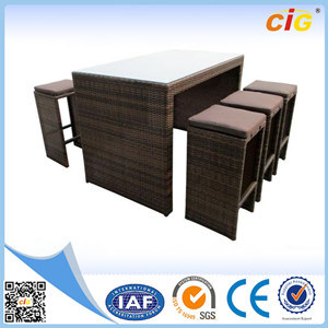 High Standard Production Hideaway Dining Set pictures & photos