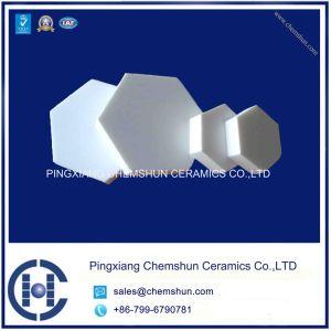 Chemshun Alumina Ceramic Hexagon Tile/Chinese Wear Ceramic Lining Manufacturer pictures & photos