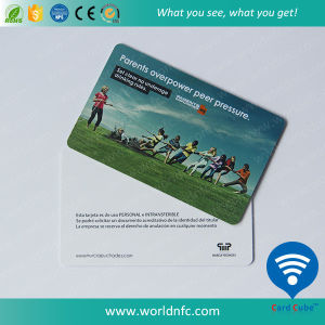Cr80 Size 0.76mm Thickness PVC Plastic Card pictures & photos