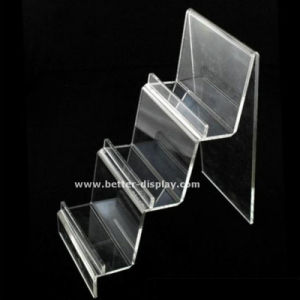 Clear Acrylic Belt Display Rack for Retail pictures & photos
