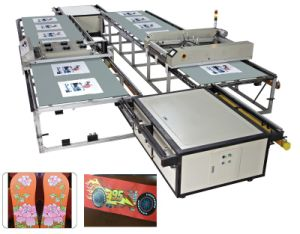 Newest Flatbed Slipper Screen Printer/ Printing Machine pictures & photos