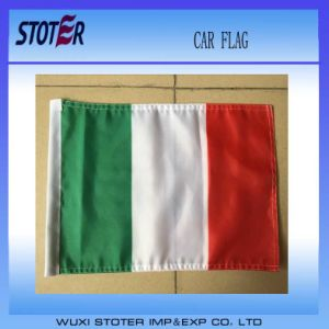 Spain Car Window Decorative Flag for Soccer Fans, Hanging Car Flag pictures & photos