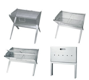 Portable and Foldable Charcoal BBQ Grill (TM-OM8) pictures & photos