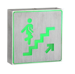 Aluminum Box LED Rechargeable Indicator Lights for Upstairs Sign pictures & photos