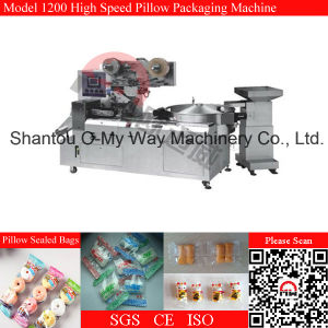China Manufacturer Chocolate Hard Candy Pillow Packing Machine pictures & photos
