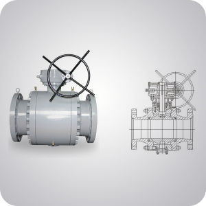 Forged Steel Trunnion Ball Valve China Supplier pictures & photos
