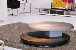 Antique Round Coffee Table in High Gloss pictures & photos