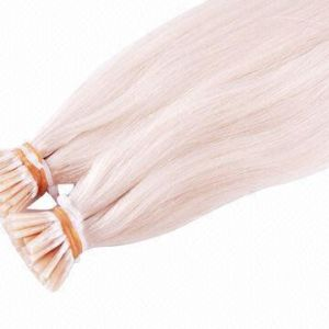 "100% Real Remy Pre-Bonded Hair Extension I-Tip 24"" Blonde Color pictures & photos"