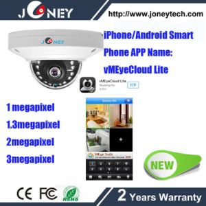 Newest Joney 3MP Mini Dome Camera Full HD Poe Power Network IP66 Indoor pictures & photos