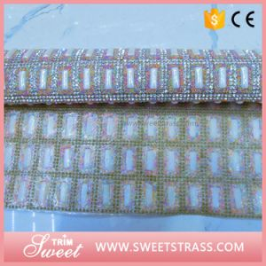 Custom Pattern Mirror Square and Pearl Sheet Wrap pictures & photos