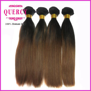 8A Grade 100% Omber Color Peruvian Virgin Remy Silky Straight Hair pictures & photos