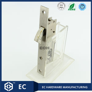 16mm Backset Iron Sliding Door Lock (16YMS)
