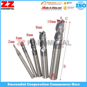 Tungsten Cemented Carbide End Mills for Cutting Tools pictures & photos