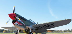 Large RC Aircraft/Plane Model P40 with High Speed