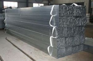 Q345, Q235, Q195, Square/Rectangle Iron Steel Pipe in Construction