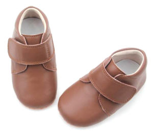 Eco-Friendly Leather Toddler Running Shoes