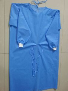 Surgical Gown/Islation Gown/Lab Coat pictures & photos