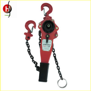 Durable Ce Certificate 0.75t Lever Chain Block pictures & photos