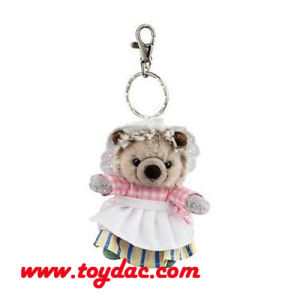 Stuffed Dress Bear Keychains pictures & photos