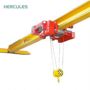 Lda Type Light Duty Electric Hoist Single Girder Overhead Crane pictures & photos