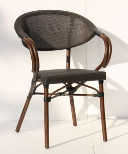 Elegant Outdoor Textilene Cafe Chair (Bc-08025) pictures & photos
