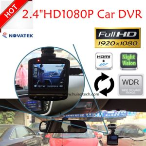 "Hot Sale 2.4"" HD1080p Car Camera with Ntk96220; G-Sensor; WDR; Night Vision Function DVR-2401 pictures & photos"