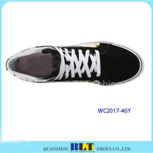 Clourful Printed Canvas Shoes for Women pictures & photos