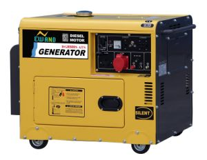 6kw Super silent Diesel Generator Air-Cooled ATS pictures & photos