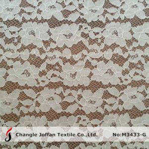 Corded Allover Dress Lace Fabric for Sale (M3433-G) pictures & photos