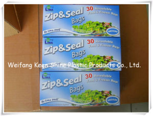 Reclosable Clear Plastic Poly Zip Lock Bags pictures & photos
