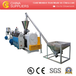 Prefessional Cheap 400-600kg/H SPVC Parallel Pelletizing Line pictures & photos