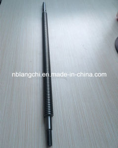 Customized Trapezoidal Thread Rod Trap Shaft Machine Lead Screw Tr20X4 pictures & photos