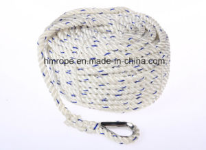 Fishing with Hook Mooring PP Danline 3 Strands Rope pictures & photos