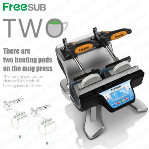 Mug Heat Press Double-Station Sublimation Machine (ST-210) pictures & photos