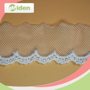 Professional QC Team Lovely Net Embroidery Lace for Wedding Dress pictures & photos