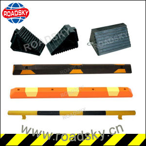 Best Price Flexible Rubber Tire Stopper in Parking Lot pictures & photos