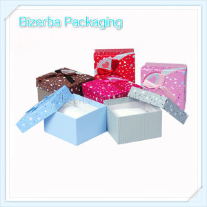 Colorful Handmade Cardboard Paper Watch Box
