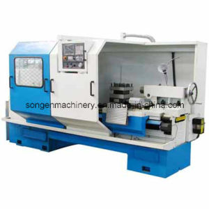 Spindle Bore 270mm CNC Oil Country Lathe pictures & photos