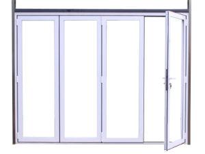 High Quality Thermal Break Aluminum Profile Folding Door K07010 pictures & photos