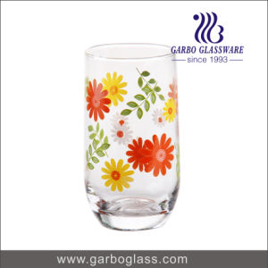 10.5oz New Printed Blowing Glass Tumbler pictures & photos