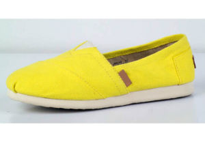 Latest Hot Sale Fashionable Wholesale Cheap Women Flat Casual Shoe pictures & photos