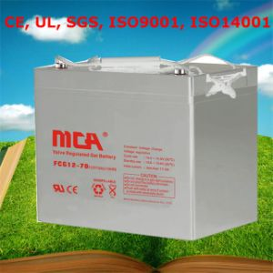 Good Quality AGM Deep Cycle Battery 12V 70ah Solar Battery pictures & photos