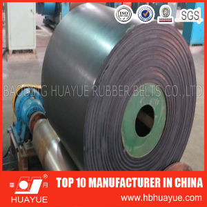DIN Standard Ep/Polyester Rubber Conveyor Belt pictures & photos