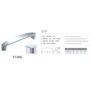 304 Stainless Steel Cabinet Handle Furniture Handle (S128G) pictures & photos