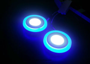 2 Colours Panel (Blue Edge) LED Panel Light pictures & photos
