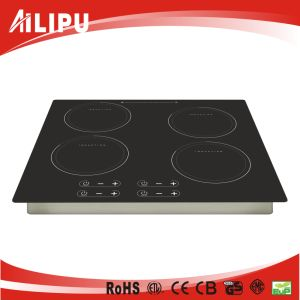 CE Approval Sensor Touch 4 Burner Induction Cooker Sm-Fic01 pictures & photos
