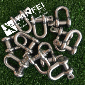 D Type Shackles G210 with Round Pin pictures & photos